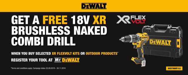 DEWALT_UK FLEVOLT_Promotion