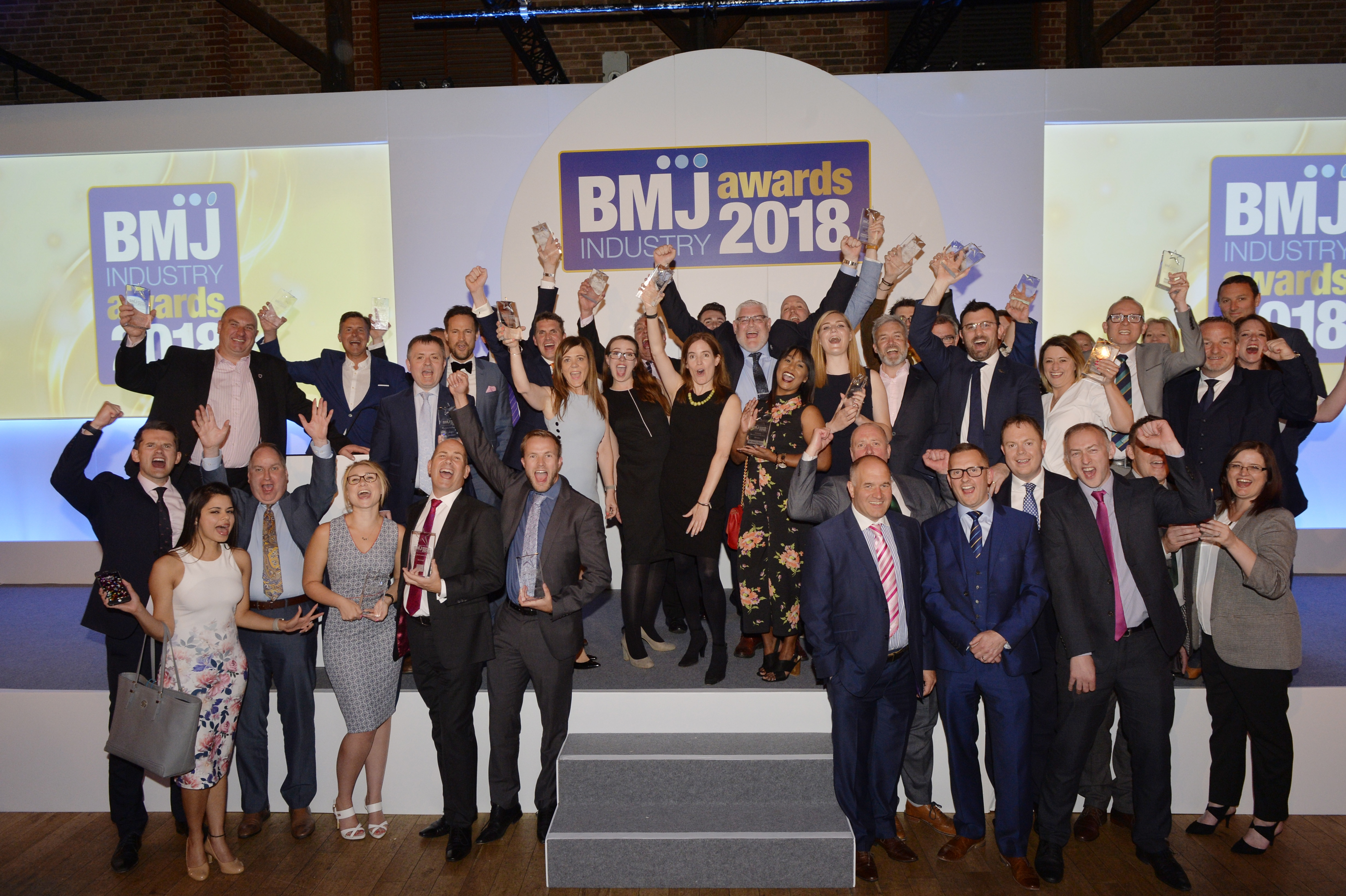All the BMJ Industry Award winners