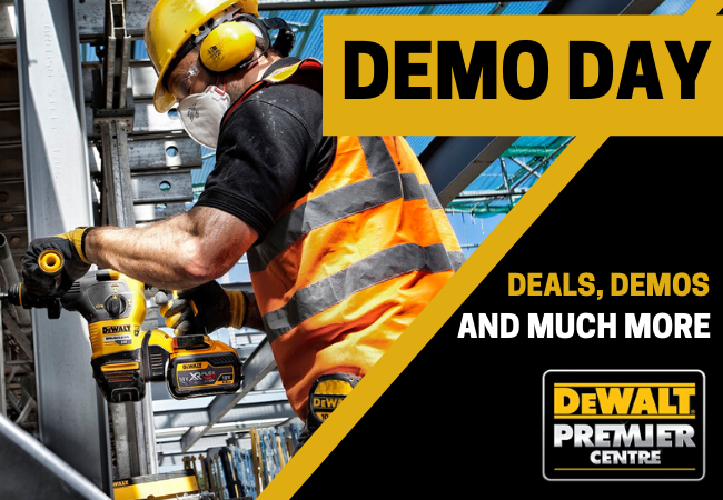 DeWALT DEMO DAY | November | Elliotts