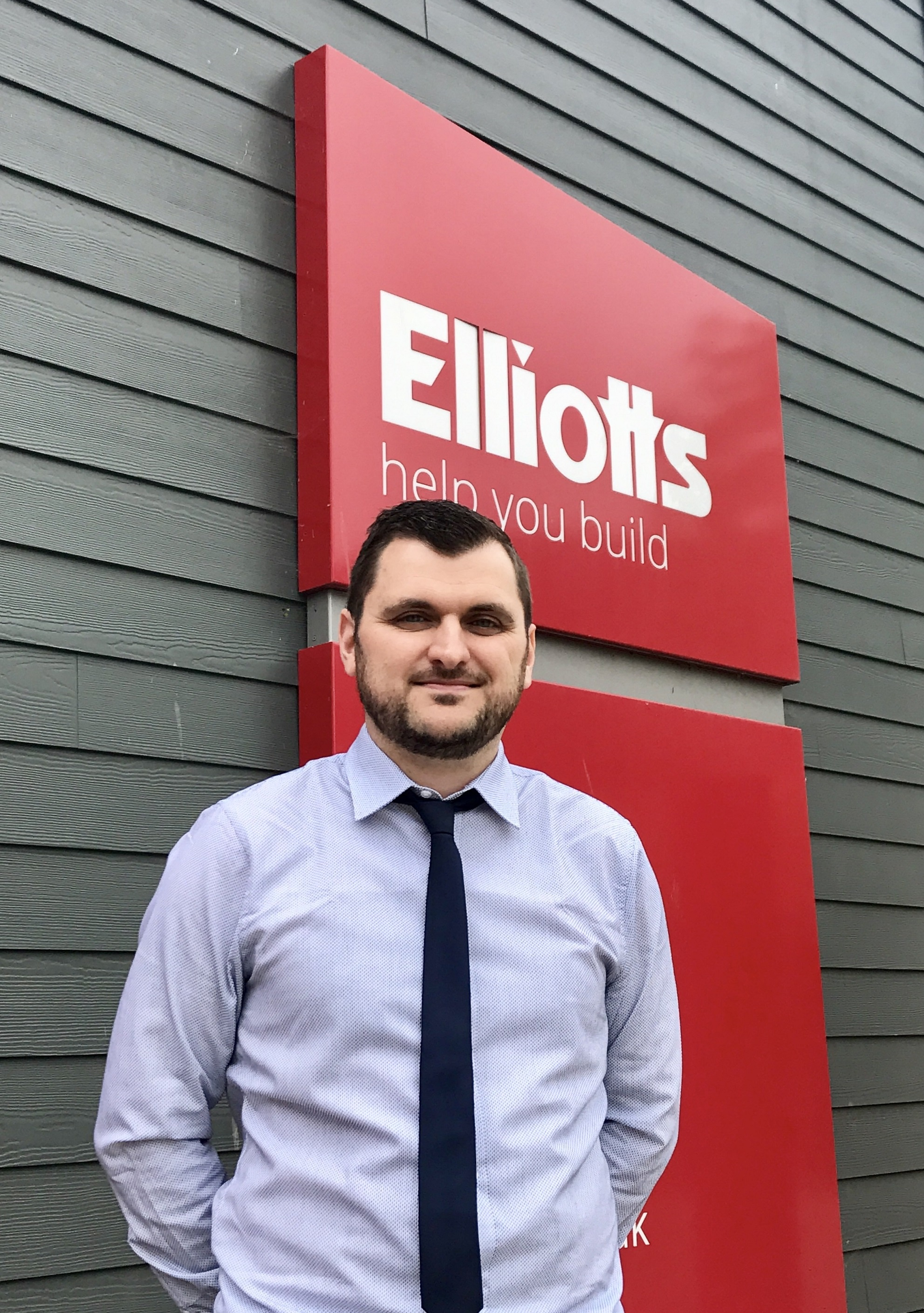 Dominic Rice – Elliotts' new Joinery Product Manager