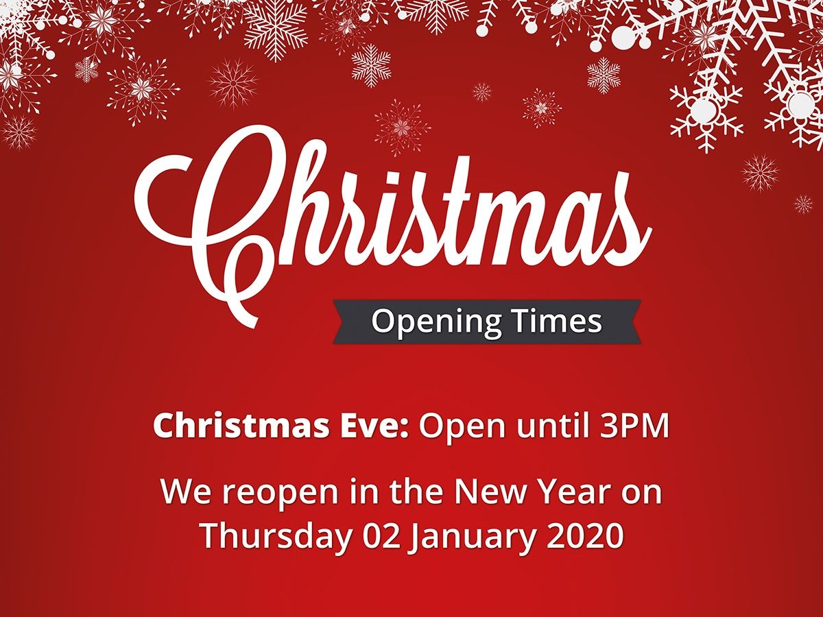 Elliotts Christmas Opening Hours 2019
