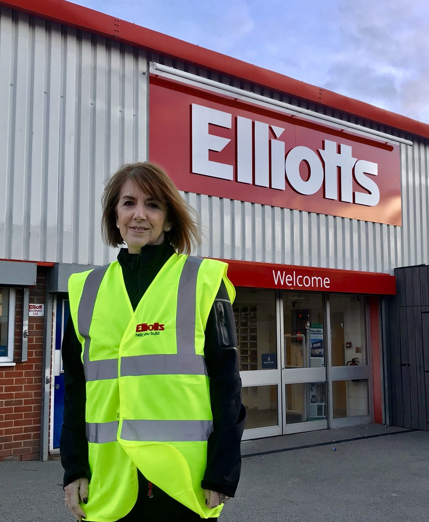 Lauren outside Elliotts Southampton, the founding site of the company