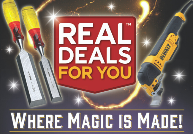 Real Deals For You at Elliotts | 2019