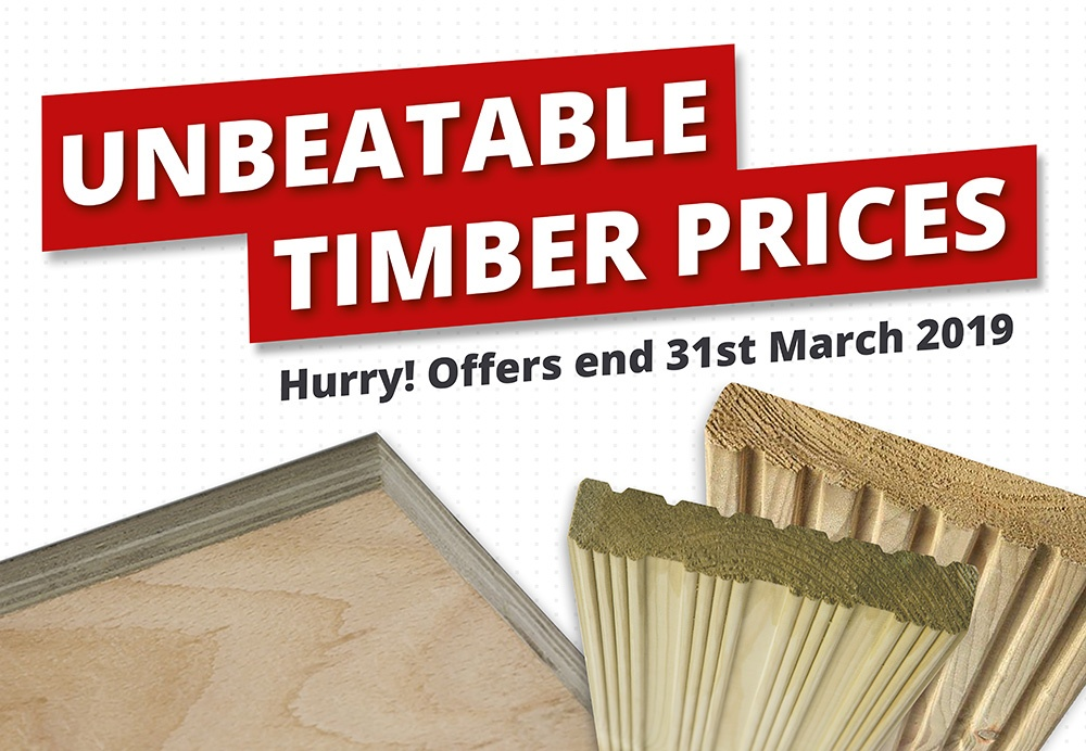 Unbeatable timber prices - March 2019