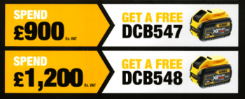 Battery deal - DeWALT 2
