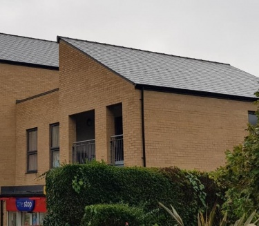Cement fibre slate installed by Elliotts Premier Roofing