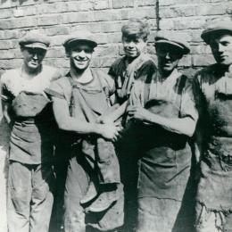 Yard workers