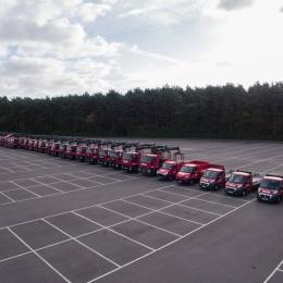 Full fleet in line